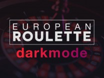 European Roulette – Dark mode