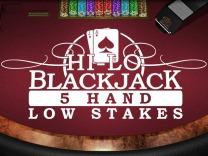 Hi-Lo Blackjack (5 Box) Low Stakes