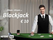 Live Blackjack 124