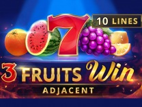 3 Fruits Win: 10 lines