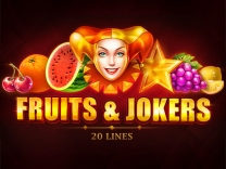 3 Charms CrushFruits and Jokers 20 Lines