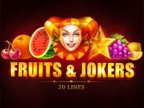 Fruits & Jokers: 20 lines