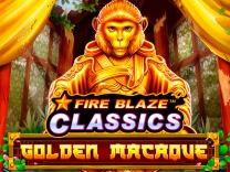 Fire Blaze: Golden Macaque