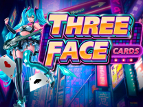 Three Face Cards