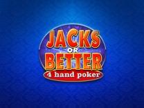 Jacks or Better 4 Hand
